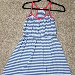 Blue and white sundress size small
